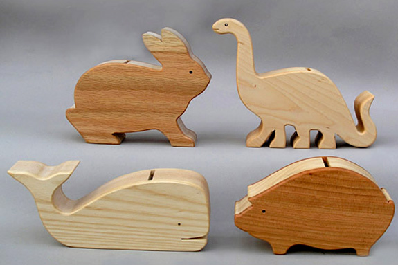 diy wood piggy bank plans free